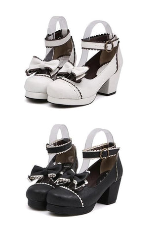Black/White [Want a Date] Shoes SP153552 - SpreePicky  - 3