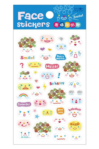 Cutie Funny Expression Stickers SP153130 - SpreePicky  - 3