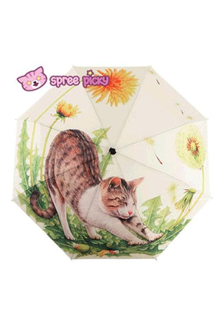 Daisy Kitty Sun-Rain 3 Fold Umbrella SP153343 - SpreePicky  - 3