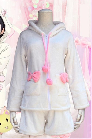 [Love live] Nico Yazawa Fluffy Bunny Coat and Shorts [Set] SP153597 - SpreePicky  - 4