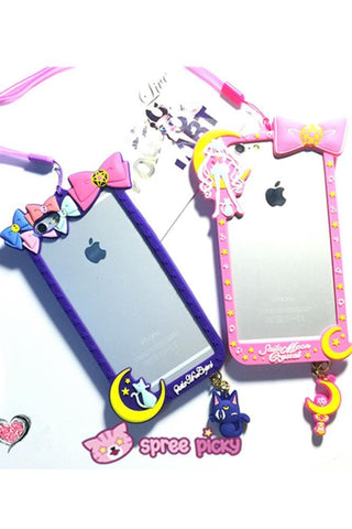 Pink/Purple [Sailor Moon] Iphone 6/Iphone 6 Plus Phone Case SP154280 - SpreePicky  - 2