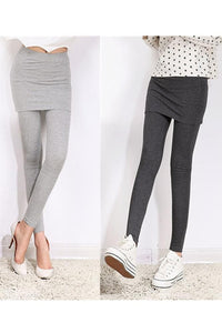 [S-4XL] 3 Colors Bottoming Skirt-Leggings SP153322 - SpreePicky  - 3