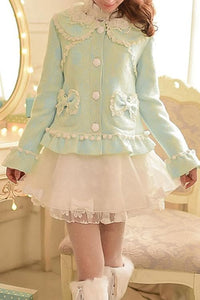 S/M/L Green Forest Fairy Coat SP153625 - SpreePicky  - 2