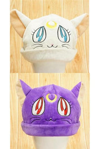 [Sailor Moon] Luna/Artemis Fleece Hat SP154062 - SpreePicky  - 3