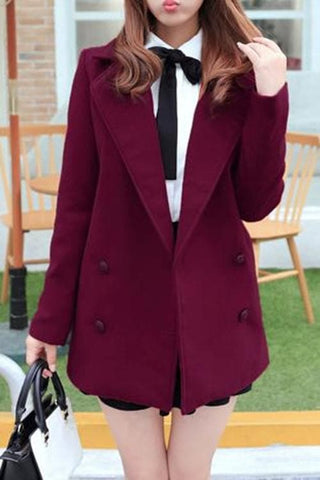Wine/Green/Navy Sailor Uniform Coat SP154288 - SpreePicky  - 3