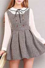 Load image into Gallery viewer, XS-L Grey/Coffee A Shape Sleeveless Dress SP154284 - SpreePicky  - 3