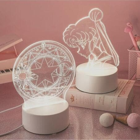 Cardcaptor Sakura/Sailor Moon Decoration Lamp SS0329