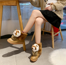Load image into Gallery viewer, Sweet Keep Warm Cat Head Snow Boots SS0633