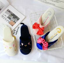 Load image into Gallery viewer, Kawaii Sailor Moon Luna Slippers SP1711006