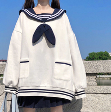 Load image into Gallery viewer, Kawaii Bowknot Hoodie Sweater SP15293