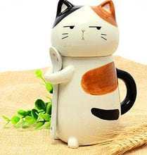 Load image into Gallery viewer, Kawaii Kitty Cat Ceramic Tea/Coffee Mug/Cup SP179151