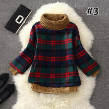 Load image into Gallery viewer, 7 Colors Grids Winter Pullover Fleece Jumper SP164708 - SpreePicky  - 5