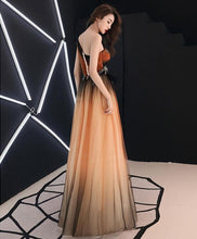 Load image into Gallery viewer, Unique Chiffon Lace One Shoulder Long Prom Dress, Evening Dress - DelaFur Wholesale