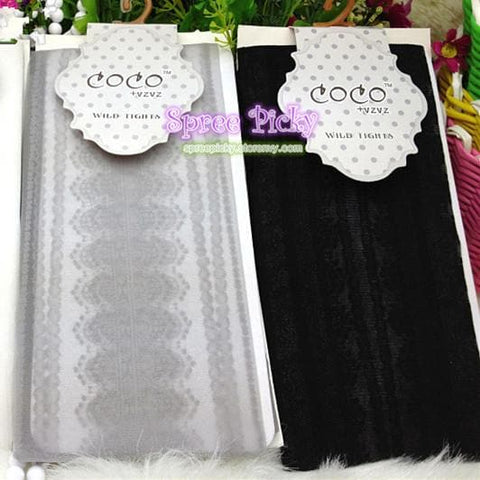 {3 For 2}Beautiful Vintage Trend Knitting Lace Pantyhose tight stocking SP130047 - SpreePicky  - 4