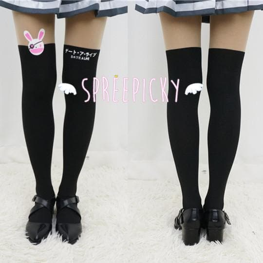 [3 For 2] Date A Live Yoshino よしの Bunny Fake Over Knees Tights SP141461 - SpreePicky  - 1