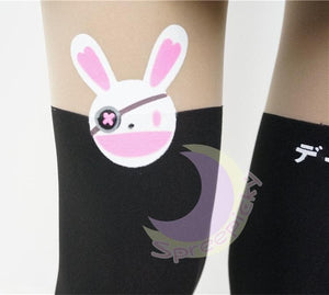 [3 For 2] Date A Live Yoshino よしの Bunny Fake Over Knees Tights SP141461 - SpreePicky  - 5