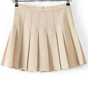 XS-L High Waist Pleated Tennis Pantskirt/Skirt SP153892 Page1 - SpreePicky  - 22