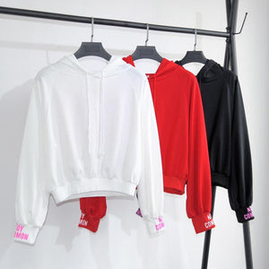 White/Red/Black Dead Inside Hoodie Jumper SP1711059