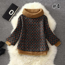 Load image into Gallery viewer, 7 Colors Grids Winter Pullover Fleece Jumper SP164708 - SpreePicky  - 6