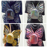 4 Colors Hologram Butterfly Wings Backpack S12791