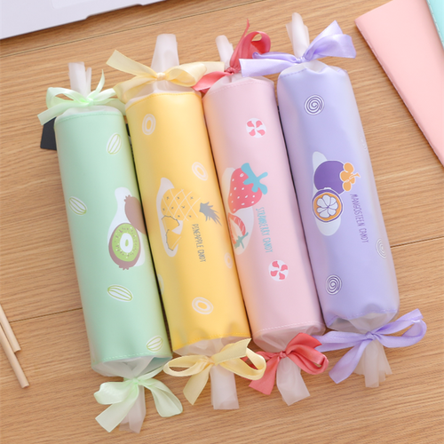 4 Colors Kawaii Fruit Candy Pencil Case SP14063