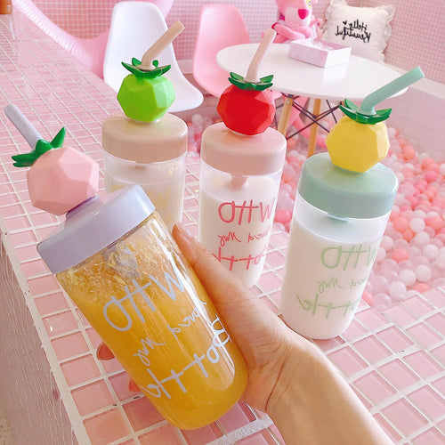 4 Colors Kawaii Fruits Water Bottle SP14048