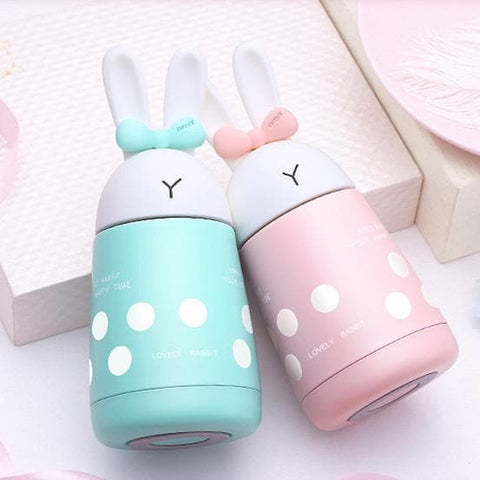 4 Colors Kawaii Pastel Rabbit Flask SP1711240