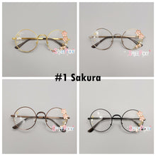 Load image into Gallery viewer, 4 Colors Kawaii Sakura Rose Space Lolita Glasses Frame SP13770