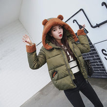 Load image into Gallery viewer, Final Stock! Kawaii Short Winter Fleece Coat SP1710976