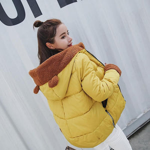 Final Stock! Kawaii Short Winter Fleece Coat SP1710976