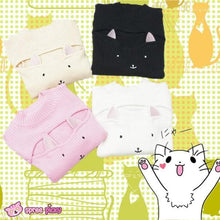 Load image into Gallery viewer, 4 Colors Kitty Open Chest Sweater SP154123