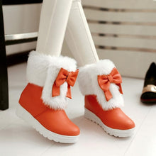 Load image into Gallery viewer, 4 Colors Lolita Bowknot Snow Boots SP1710772