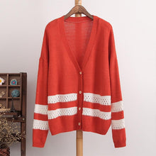 Load image into Gallery viewer, 4 Colors Long Sleeve Cardigan Sweater Coat SP154450 Kawaii Aesthetic Fashion - SpreePicky