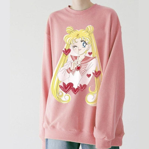 4 Colors Sailor Moon Pullover Jumper SP14377