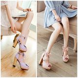 4 Colors Sweet Lolita Princess Bow Shoes S12777