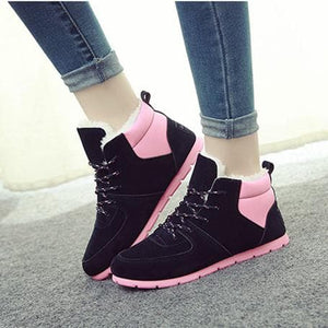 4 Colors Winter Fleece Snow Boots SP1710791