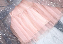 Load image into Gallery viewer, 4 colors Gradient Galaxy Star Tulle Skirt SP13744