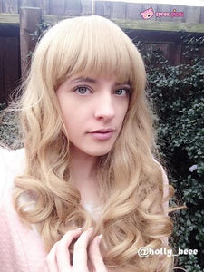 Lolita Curl K-ON Cosplay Gold Wig SP152569 - SpreePicky  - 1