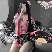 Load image into Gallery viewer, Sakura Cosplay Kimono Set SE0681
