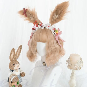 Light Brown Cosplay Lolita Kawaii Wig SP15229