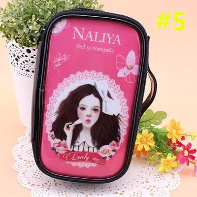 24 Patterns Cutie Girl Cartoon Cosmetic Storage Bag SP153063 - SpreePicky  - 8