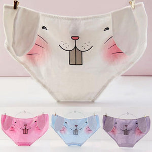 5 Color Kawaii Bunny Undies SP1711068