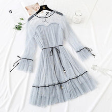 Load image into Gallery viewer, 5 Colors Fairy Paillette Lace Tulle Dress SP13539