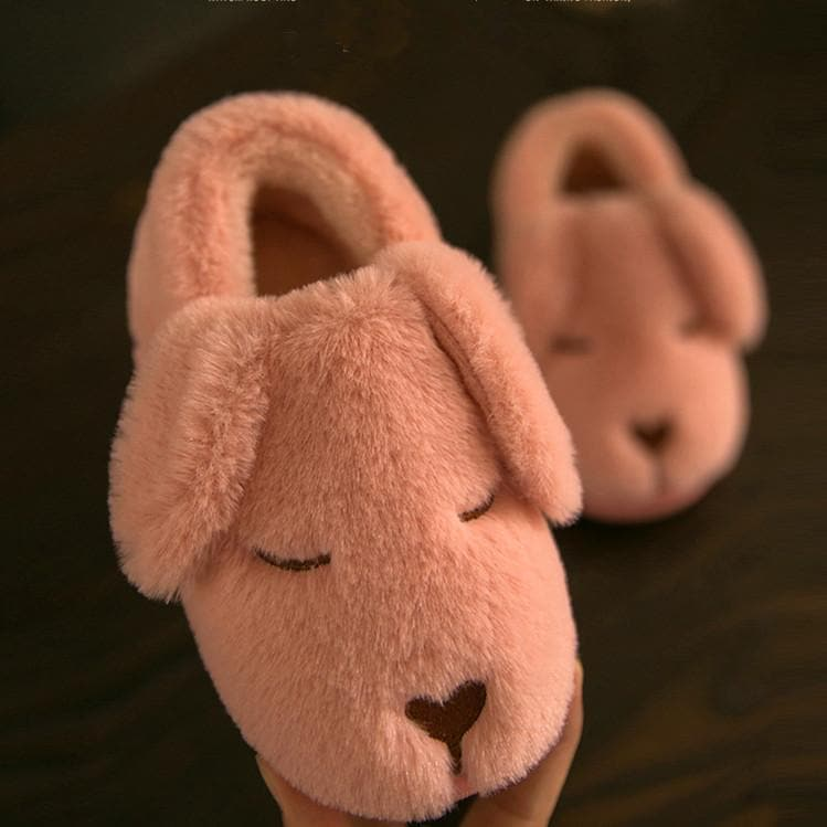 5 Colors Kawaii Puppy Fluffy Slippers SP1710878