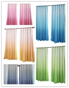 5 Colors Stary Night Ombre Curtains SP1711377