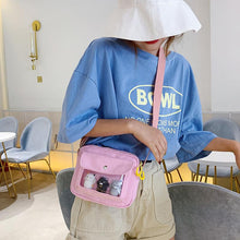 Load image into Gallery viewer, 5 Colors Transparent Canvas Cross Body Bag SP14129 - SpreePicky FreeShipping