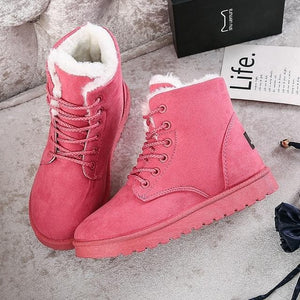 5 Colors Warming Fleece Boots SP14409