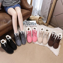 Load image into Gallery viewer, 5 Colors Warming Fleece Boots SP14409