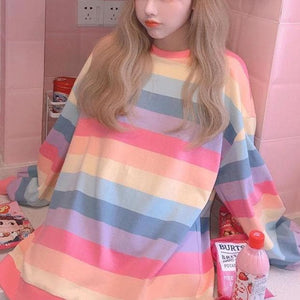 Cute Rainbow Pullover Jumper SP15120