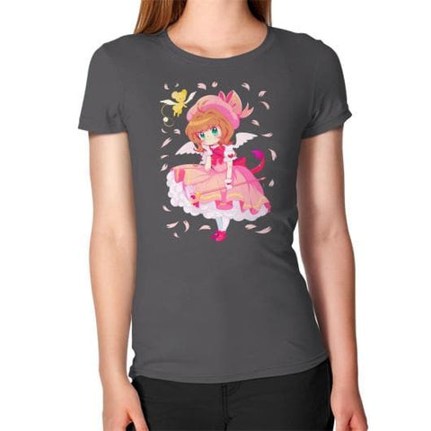 Wonderful Sakura Woman Tee Shirt - SpreePicky  - 2